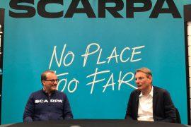L'azienda di Asolo SCARPA ha organizzato due giorni di incontri online con la sua rete di distribuzione globale per presentare tutte le novità della SS2021.