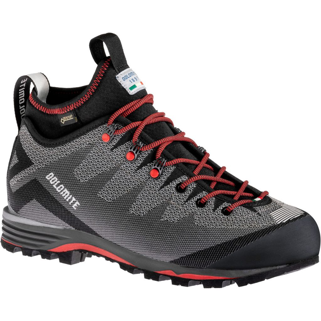 Mountaineering boots Dolomite Veloce GTX Shoe M, perfected for average altitude excursions, as well for approaching climbing walls.