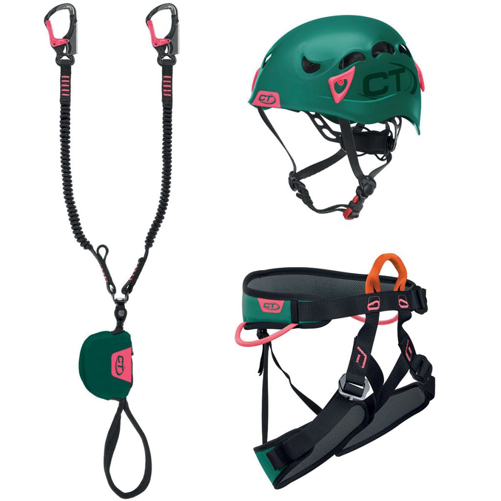 CLIMBING TECHNOLOGY - kit da ferrata VF PLUS G-COMPACT WOMAN