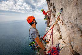 Climbing Technology, il marchio italiano di attrezzatura per arrampicata e alpinismo. Foto Klaus Dell'Orto