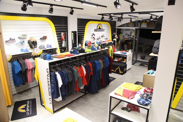 The Trentino brand La Sportiva opens a new mono-brand store on the island of Kalymnos in Greece, the mecca of European climbing