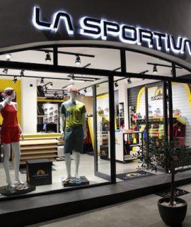 Il marchio trentino La Sportiva apre un nuovo negozio monomarca sull'isola di Kalymnos in Grecia, mecca del climbing europeo.