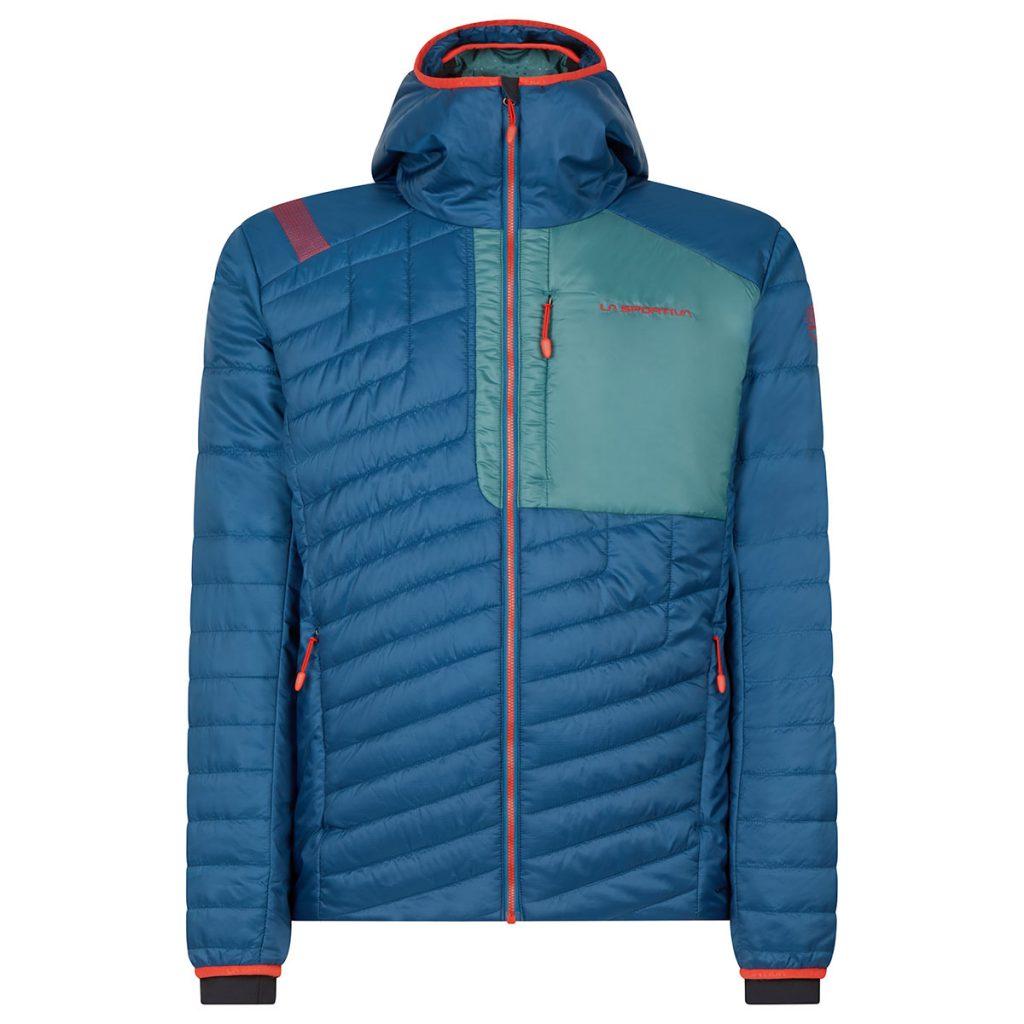 Giacca scialpinismo La Sportiva Meridian Primaloft JKT offre il massimo livello possibile di termicità grazie all'imbottitura PrimaLoft® Silver Active Eco.