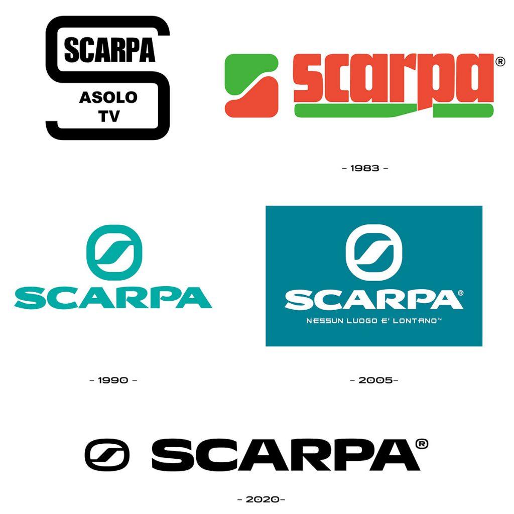 Dal logo a un nuovo font proprietario, SCARPA evolve la sua immagine visiva per rilanciare il proprio sviluppo internazionale