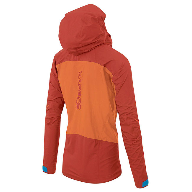 Ski Mountaineering Jacket Karpos Storm Evo: seam-sealed technical three-layer shell that allows you to face any adverse winter weather conditions.