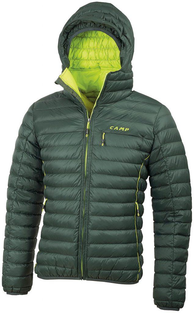 Piumino CAMP ED Protection Jacket: leggero, resistente e con trattamento esterno DWR