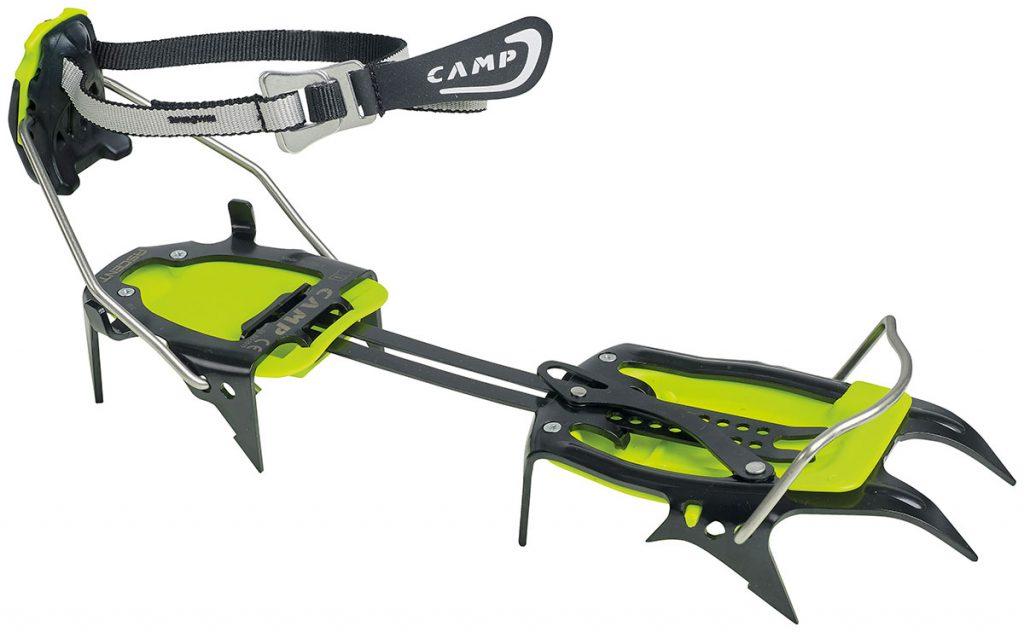 Rampone a 10 punte CAMP Ascent per alpinismo classico, in acciaio, leggero ed essenziale con perfetta calzata garantita dalle molteplici regolazioni.
