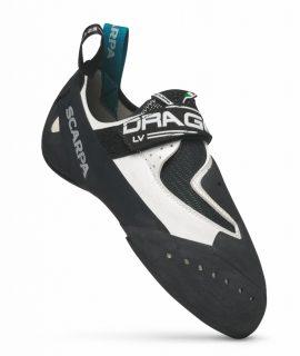 Drago LV, la nuova scarpetta d'arrampicata firmata SCARPA consigliata sia per la falesia che boulder con suola Vibram e chiusura con un singolo strap Velcro