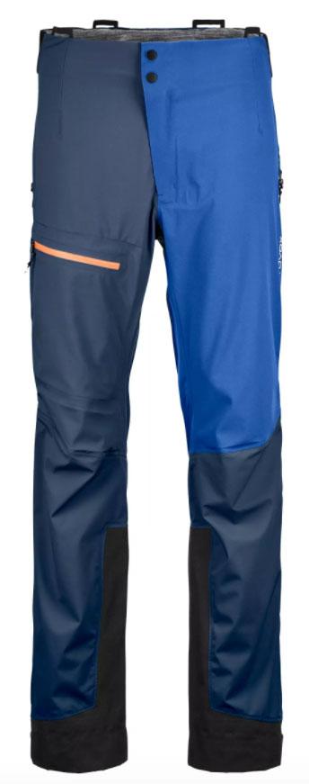 Pantaloni da montagna Ortovox 3L Ortler Pants M: pantaloni hardshell robusti, antivento e impermeabili per uso alpino.
