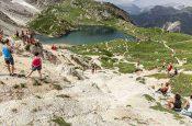250 coppie hanno dato vita al brevetto Transcivetta Karpos 2020. Per la gara di corsa in montagna attorno al Civetta l'appuntamento è al 18 luglio 2021