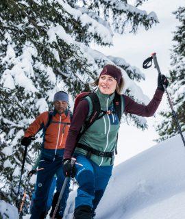 Da 40 anni Ortovox rende più sicuri gli sport di montagna come lo scialpinismo, l'alpinismo e l'arrampicata. I valori restano, il design cambia.