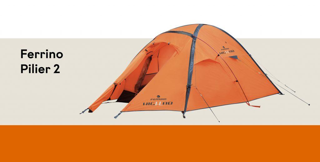 Tenda Ferrino Pilier 2: spedizioni in alta quota e grande resistenza in condizioni atmosferiche estreme.