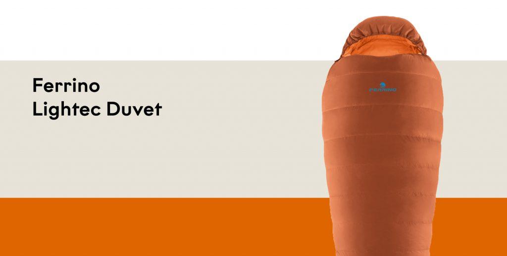 Sacco a Pelo in Piuma Ferrino Lightec Duvet: il massimo delle prestazioni