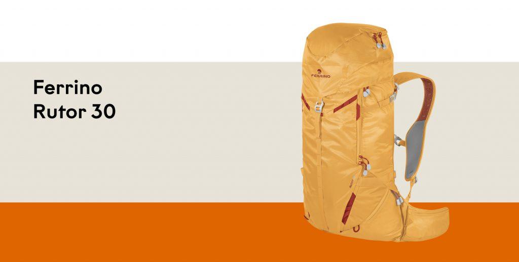 Ferrino Zaino Rutor 30: Fast and light per tutte le attività alpinistiche