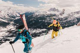 Un nuovo standard di protezione, il guscio Karpos Jorasses Plus; la giacca e i pantaloni da montagna in Gore-Tex Infinium. Un guscio ibrido per l'alpinismo.