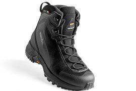 Scarpe da trekking Brenva Lite GTX CF consigliato anche per il hiking, è uno dei primi modelli leather-free a marchio Zamberlan.