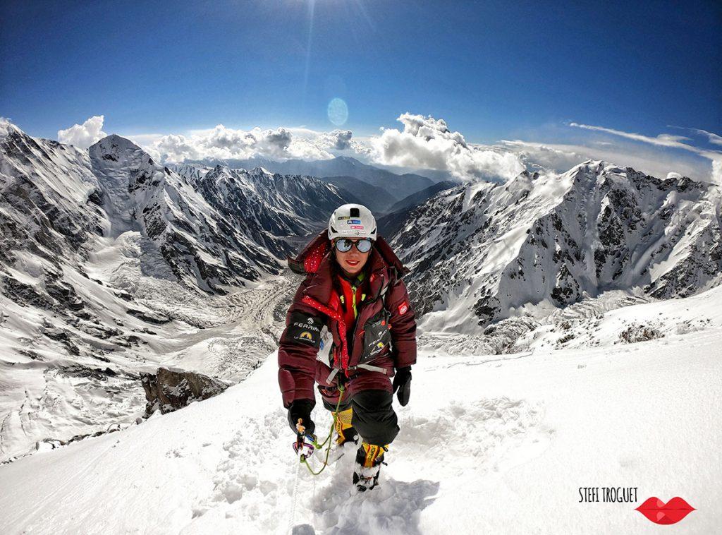 L'alpinista andorrana Stefi Troguet