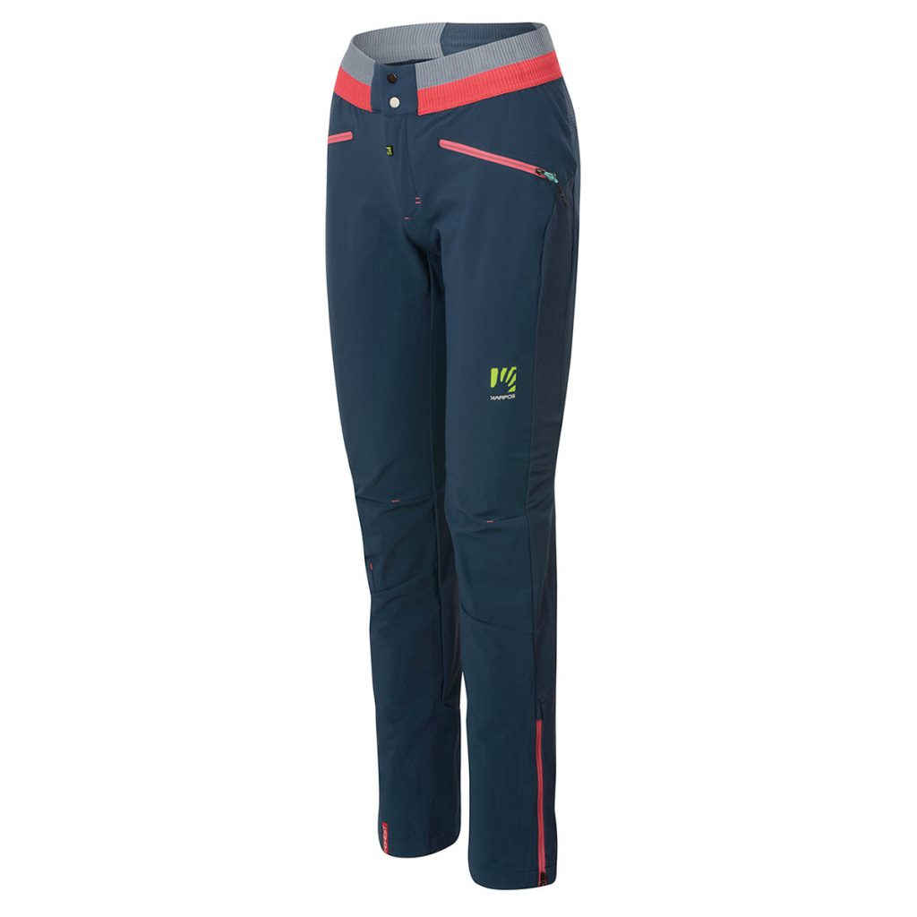 Womens mountaineering pants Karpos K-Performance Rock Climbing W Pant, a summer mountaineering pant for use on both rock and snow.