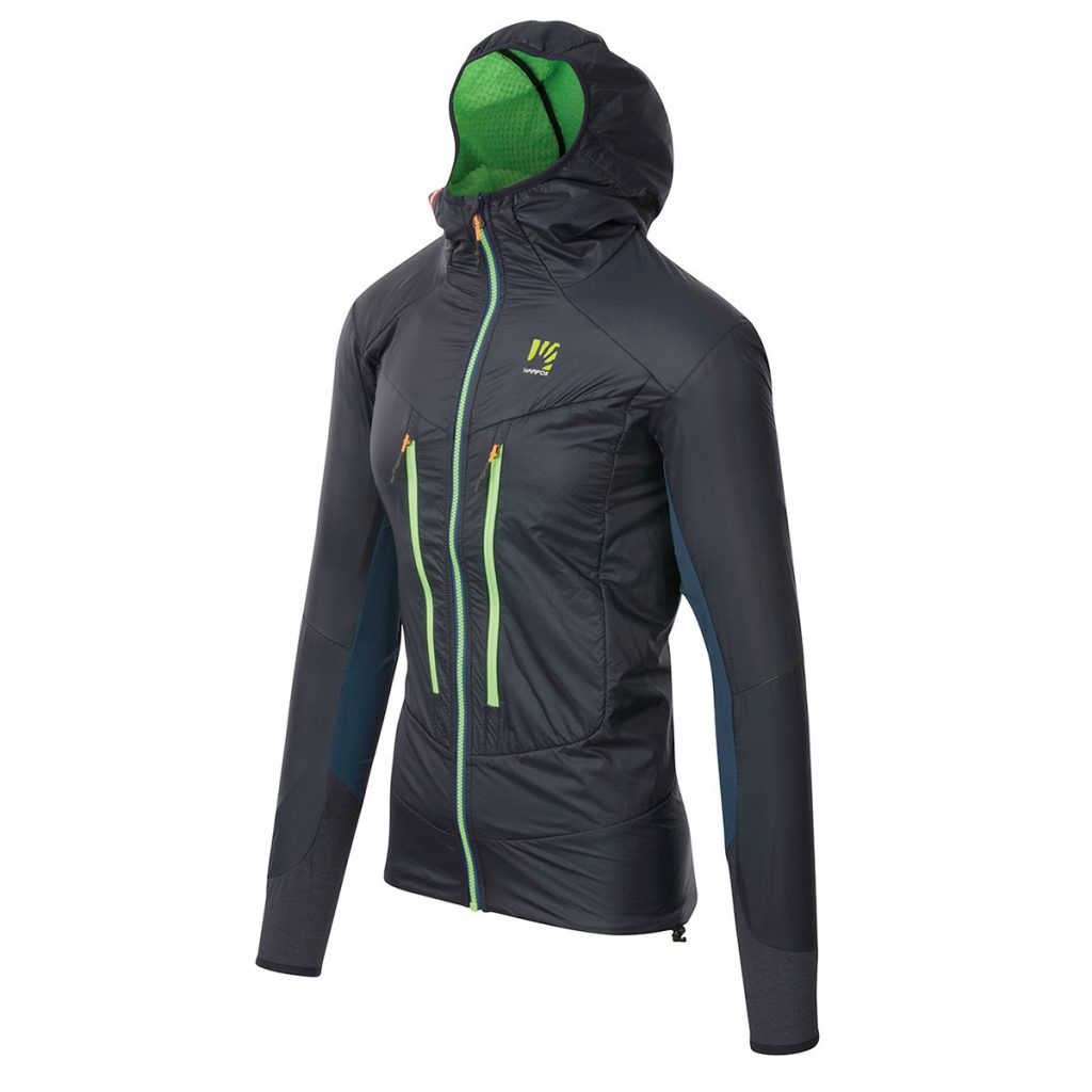 Mountaineering jacket Karpos K-Performance Hybrid Jacket Men, ideal for any summer activity in the mountains such as rock climbing or alpinism.