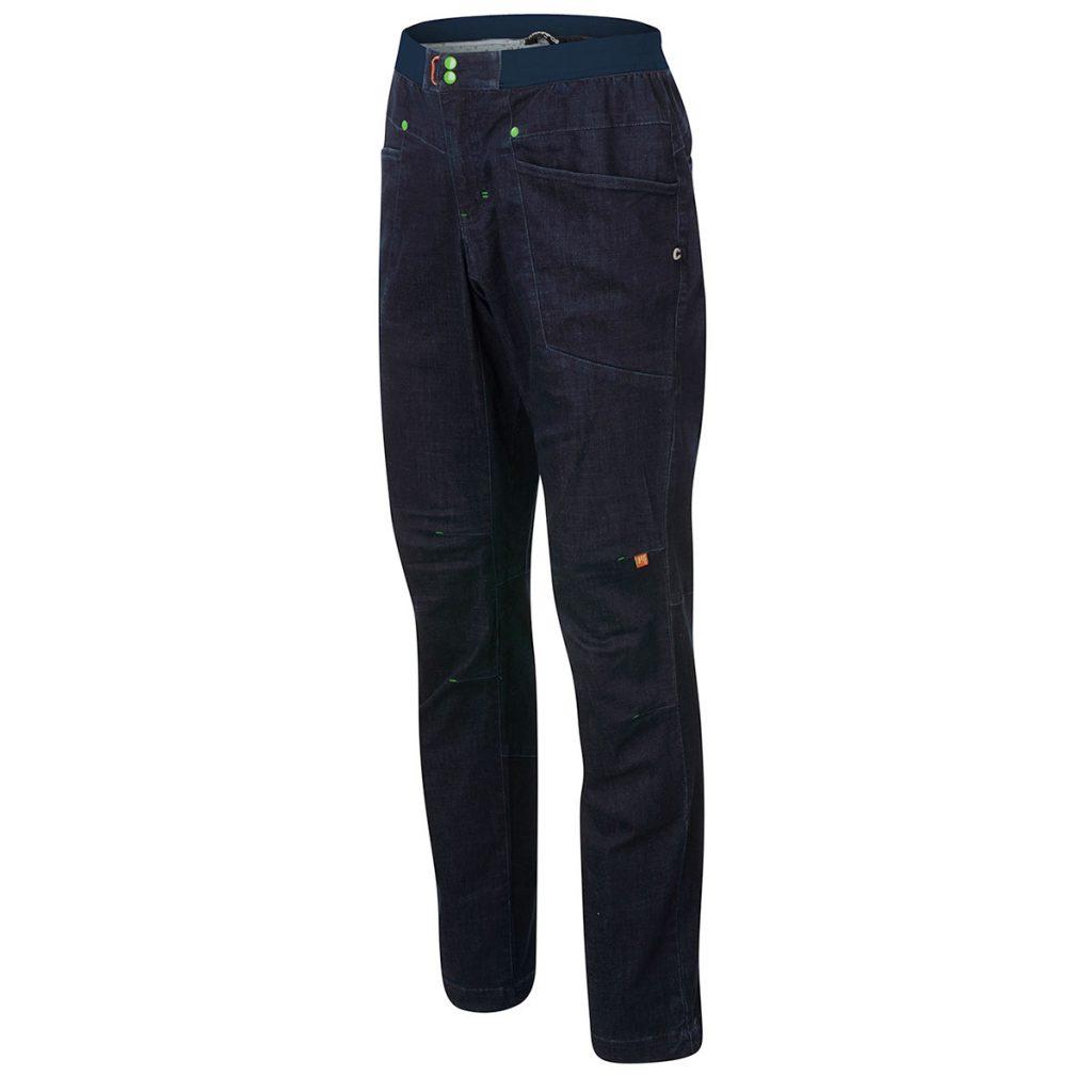 Pantalone arrampicata Karpos Faggio Jeans Pant: massima libertà di movimento quando si è in parete, ideale anche per viaggi o nel tempo libero.