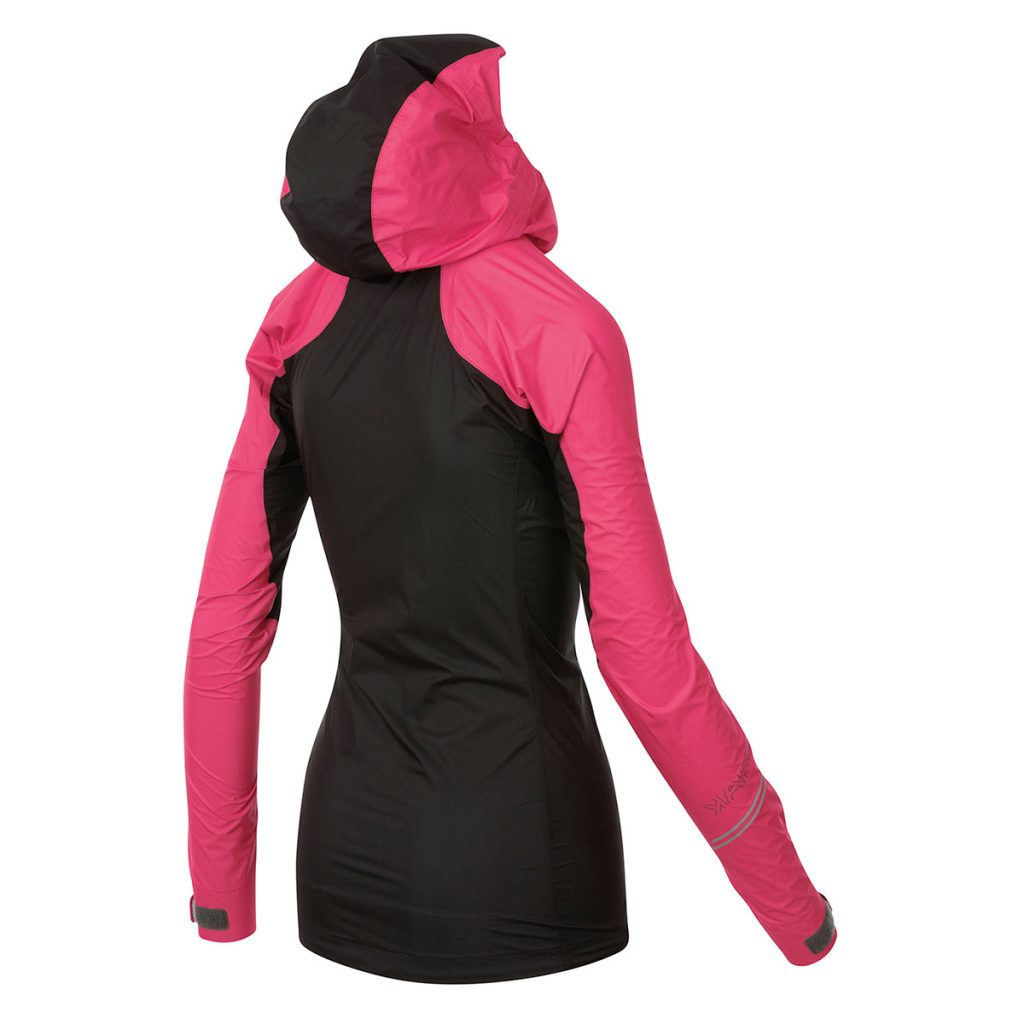 Lightweight women's waterproof jacket Karpos Lot Rain W Jacket, ideal for climbing and hiking in summer or ski mountaineering in winter.