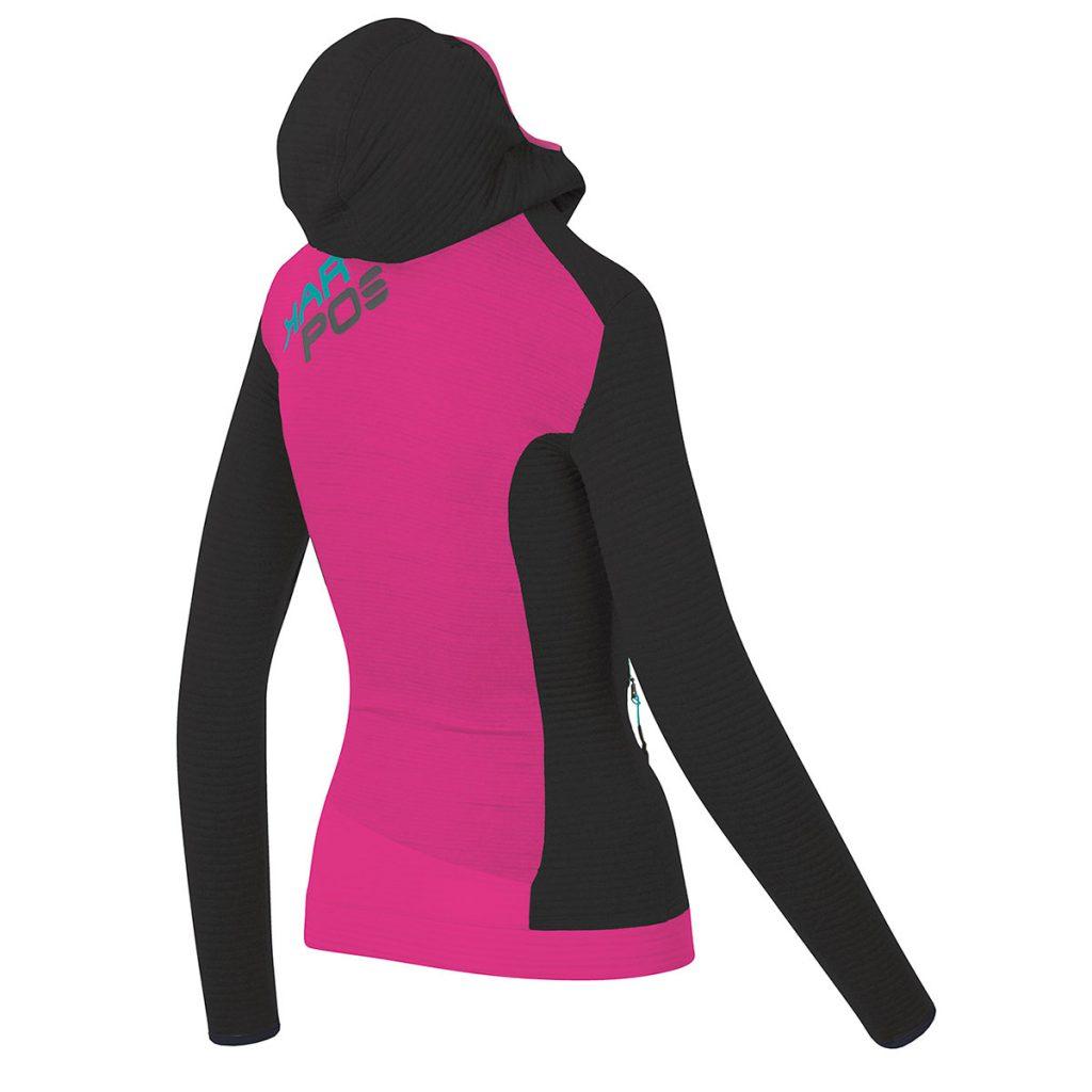 Second layer Pile Jacket Karpos Nuvolau W Fleece
