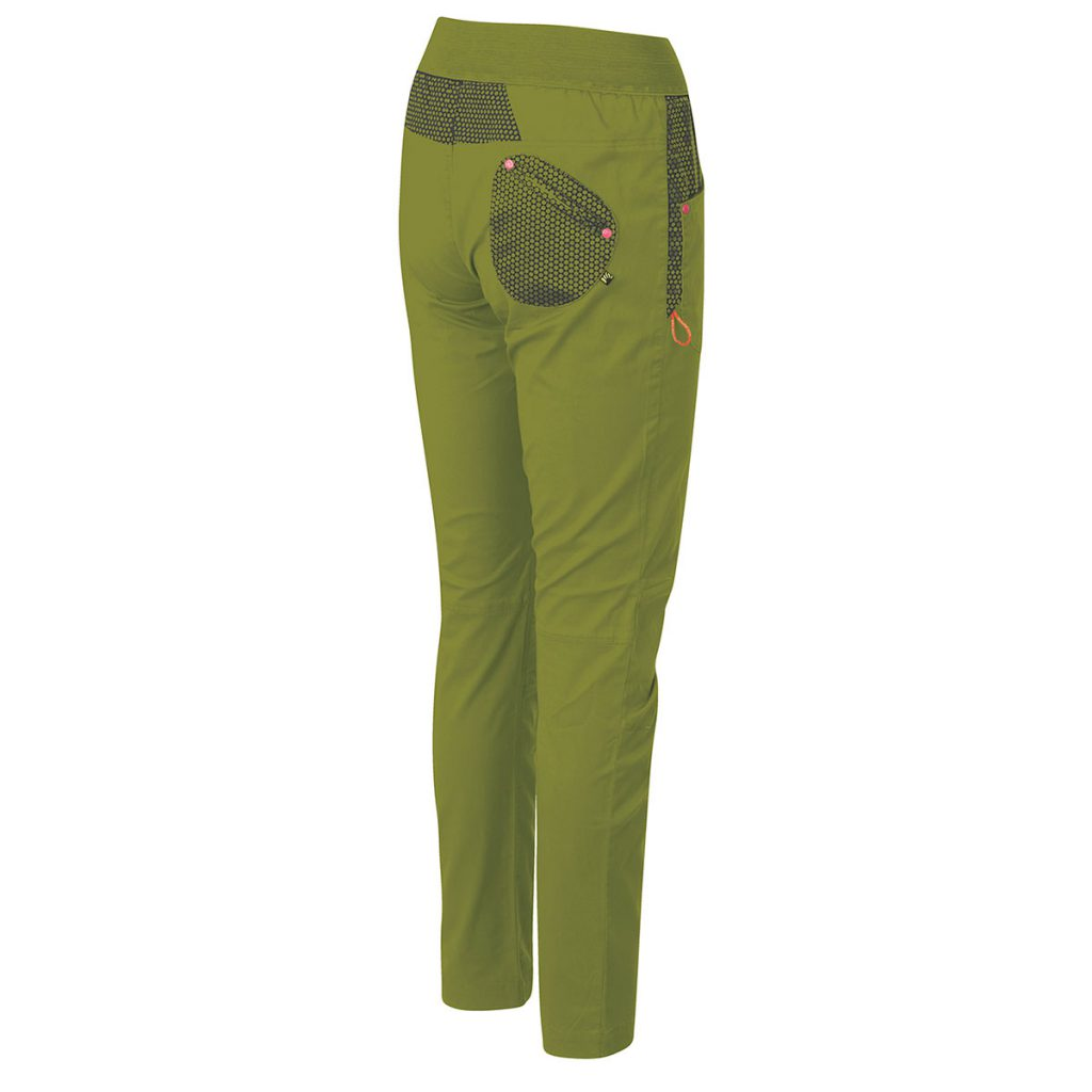 Rock climbing pants for women Karpos Salice W Pant. Smart-looking and comfortable, it's also perfect for travel or casual wear.