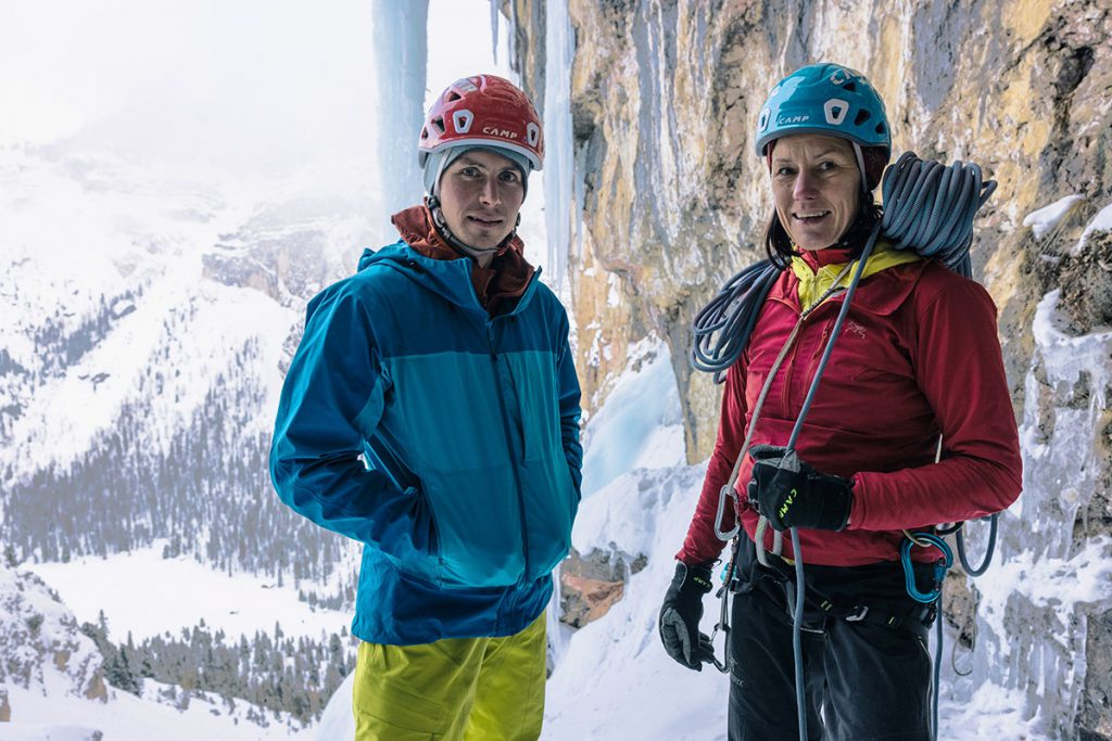 World-famous mountaineers and rock climbers Ines Papert and Luka Lindič have become CAMP athletes.