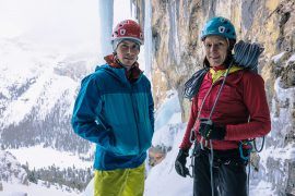 Luka Lindič e Ines Papert nel team di atleti C.A.M.P. © Klaus Fengler