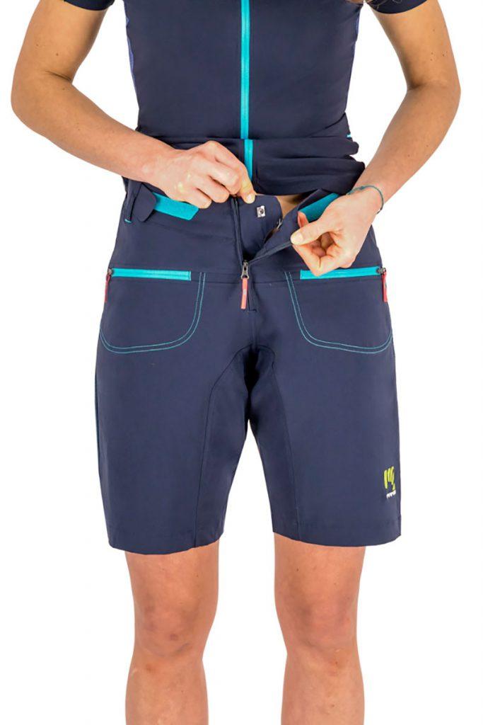 Women's adventure biking shorts Karpos Ballistic EVO W Short