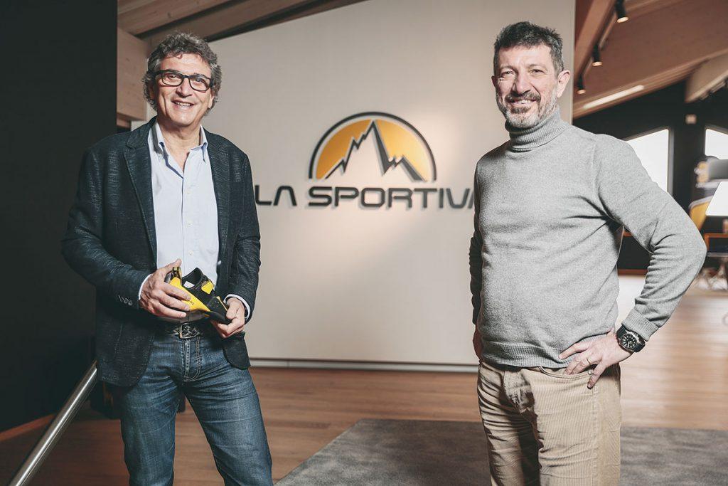 Lorenzo Delladio con Marcello Favagrossa