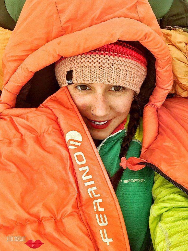Andorran mountaineer Stefi Troguet