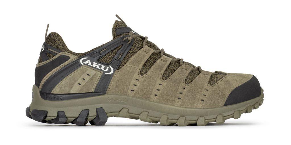 Scarpa leggera multiterrain e hiking AKU Alterra Lite GTX, versatile e traspirante, per utilizzo dinamico su terreni di media difficoltà.