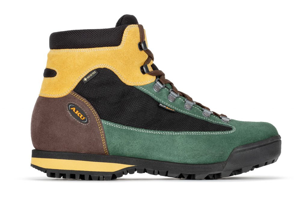 Comfortable walking boots AKU Slope Original GTX with a timeless classic style. Suitable for daily trekking on easy and medium difficulty terrain