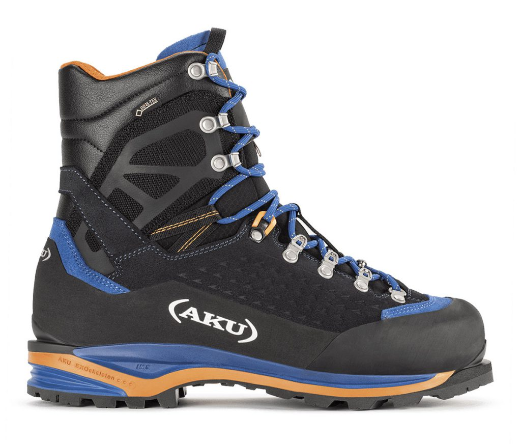 Mountaineering boots AKU Hayatsuki GTX: designed for use in different alpine environments,  perfect for hard and mixed terrain as well as demanding trekking
