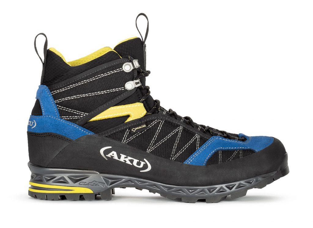 Scarpe da montagna AKU Tengu Lite GTX. Un modello da trekking per utilizzo versatile su terreni misti, con materiali ultraleggeri e fodera in Gore-Tex