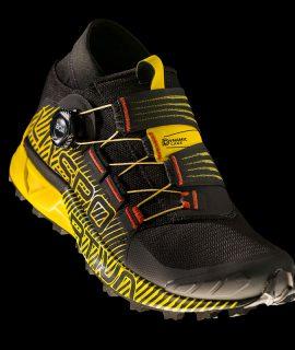 Le scarpe trail running La Sportiva Cyklon: il cuore della calzatura è il sistema di calzata e di chiusura one-hand grazie a BOA® Fit System