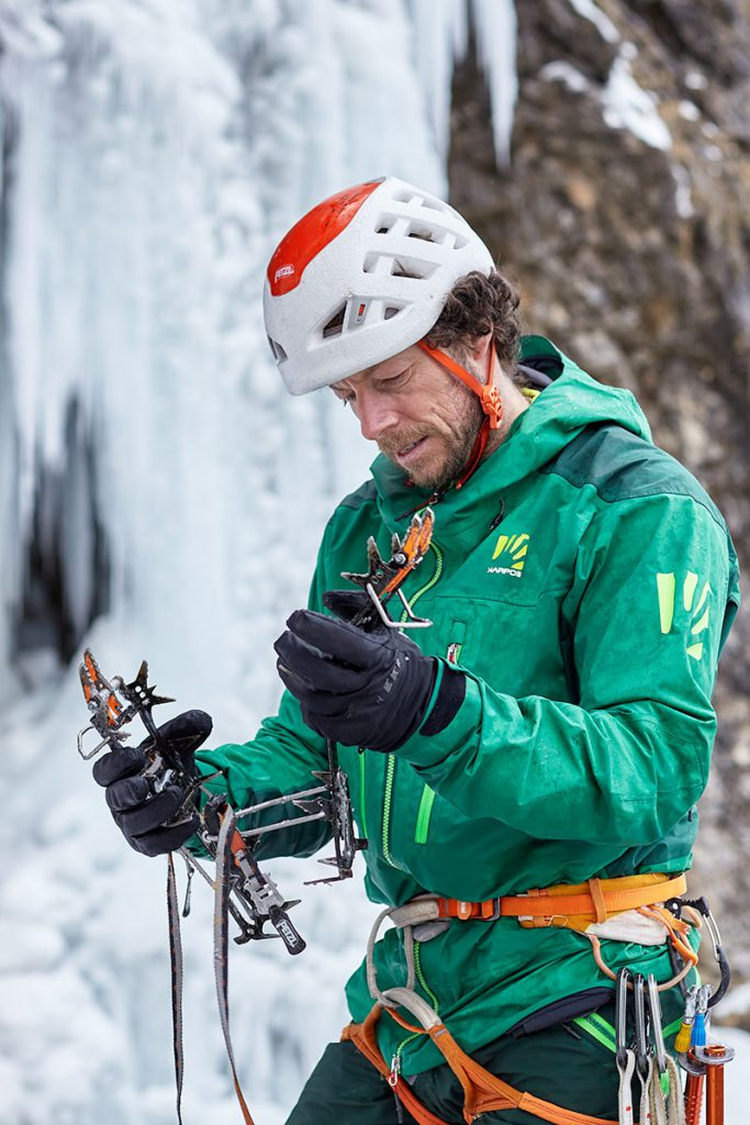 Silvan Schüpbach is the new Karpos ambassador. Biotechnologist and climbing instructor by profession, Silvan is a well-rounded mountaineer with a preference for clean and mixed climbing. © Tommaso Lamantia