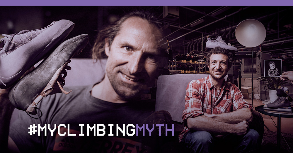 To celebrate 30 years of the iconic Mythos climbing shoe, La Sportiva is launching the MyClimbingMyth photo contest with a nostalgic flavour that, starting with its ambassadors, collects, narrates and rewards the stories of our vertical myths.