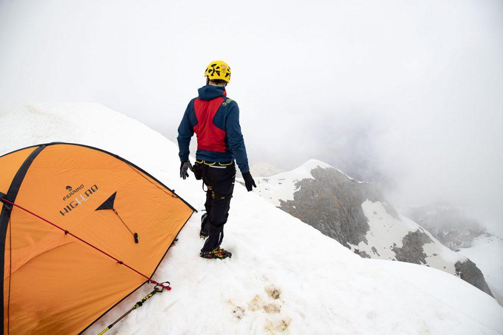 Ferrino da il benvenuto nel team ad Andrea Lanfri, alpinista ed atleta paralimpico.