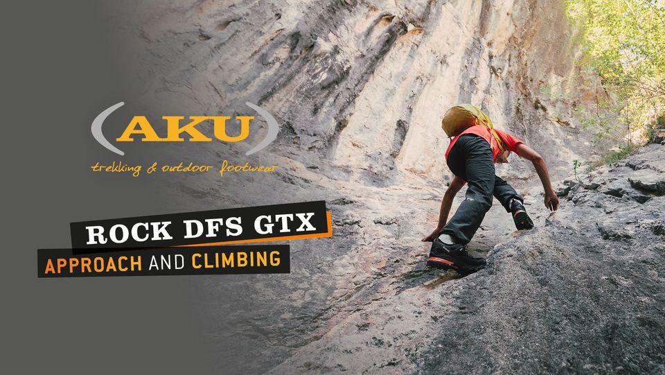 AKU lancia I AM A ROCK, campagna digital a supporto dei migliori clienti italiani e stranieri che hanno selezionato il modello da approach ROCK DS GTX.