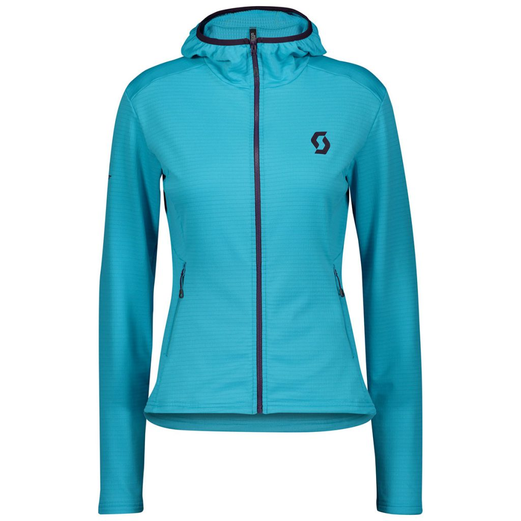 Scott Defined Light Womens Hoody, lightweight stretch insulation, quick-dry for intense training, soft and comfortable touch