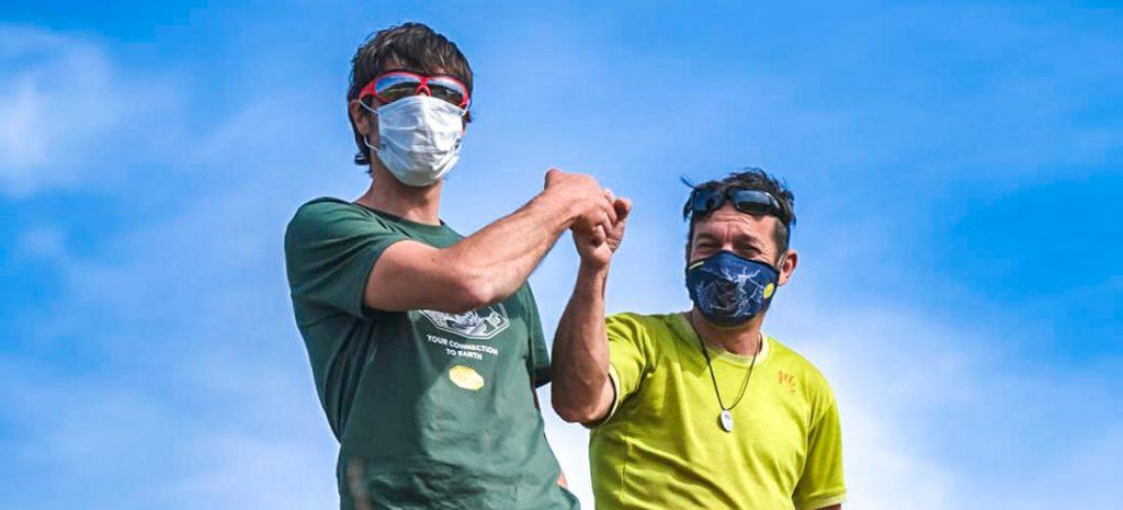 Climb & Clean - Una montagna di rifiuti raccolta dagli Ambassador Karpos Massimo Faletti e Matteo della Bordella in Trentino Alto Adige e Sicilia.