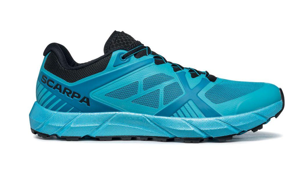 Scarpe corsa in montagna SCARPA Spin 2.0, per trail running e skyrunning per la corta e media distanza con tomaia ultra leggera e traspirante