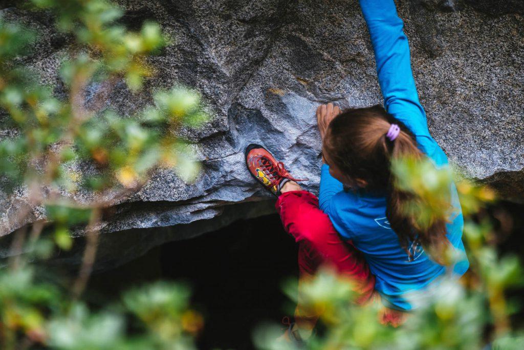 La climber Laura Rogora, pronta per le Olimpiadi di Tokyo 2020