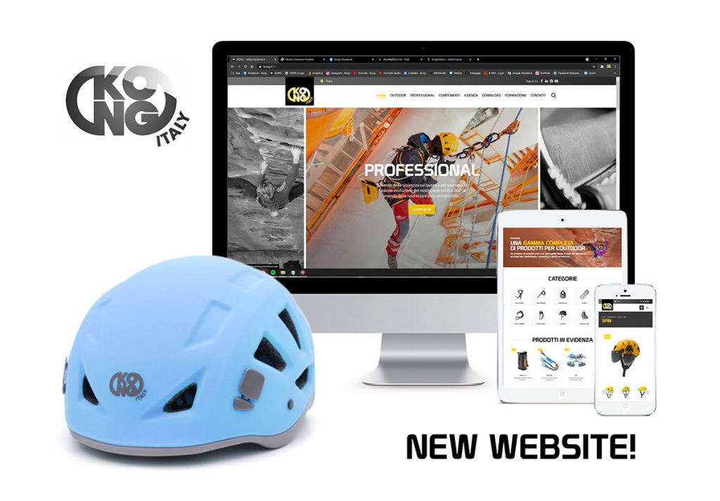 Kong launches its new website www.kong.it: new graphics, technologies, sections, improved user-friendly navigability but the same family-feeling as always.