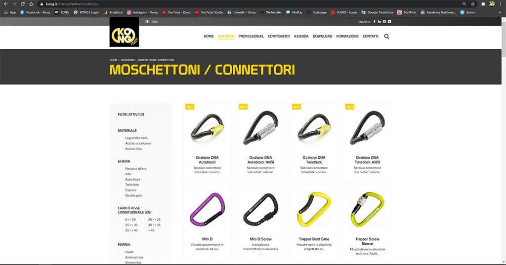 The new Kong website www.kong.it