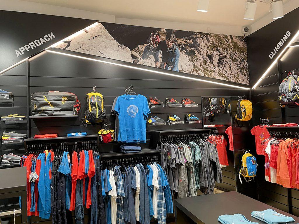 Il nuovo negozio La Sportiva Cortina.