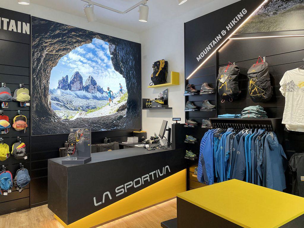 La Sportiva apre un nuovo brand store a Cortina. Il marchio trentino apre l'undicesimo negozio monomarca in Europa