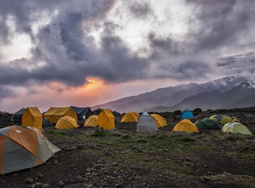 Kilimanjaro Base Camp @ Andrea Gozzoli